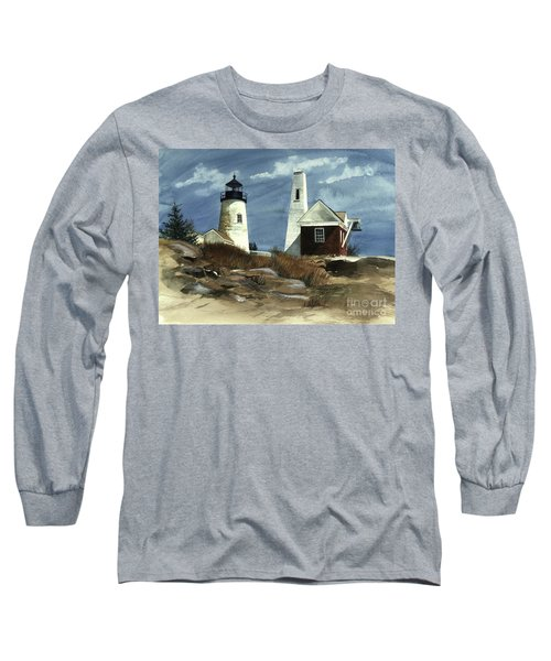 Pemaquid Point Lighthouse  Long Sleeve T-Shirt