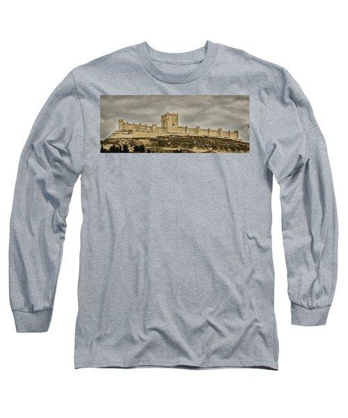 Penafiel Castle, Spain. Long Sleeve T-Shirt