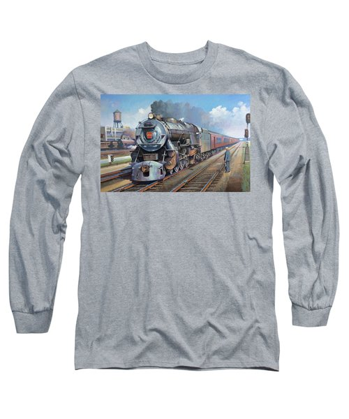 Penn Central Pacific. Long Sleeve T-Shirt by Mike Jeffries