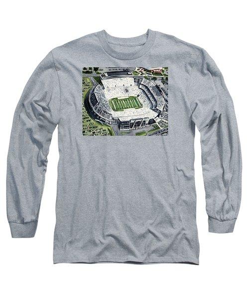 Penn State Beaver Stadium Whiteout Game University Psu Nittany Lions Joe Paterno Long Sleeve T-Shirt