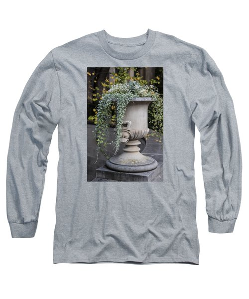 Penn State Flower Pot  Long Sleeve T-Shirt by John McGraw