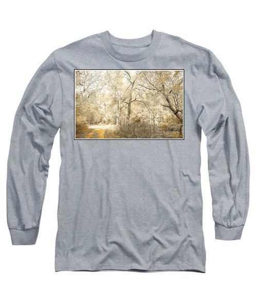 Pennsylvania Autumn Woods Long Sleeve T-Shirt