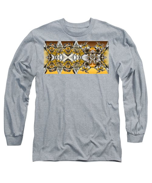 Pentwins Long Sleeve T-Shirt by Ron Bissett