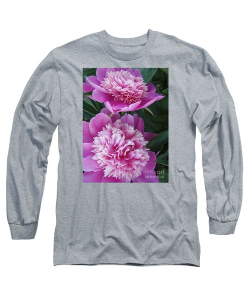 Peony Long Sleeve T-Shirt by Kristine Nora