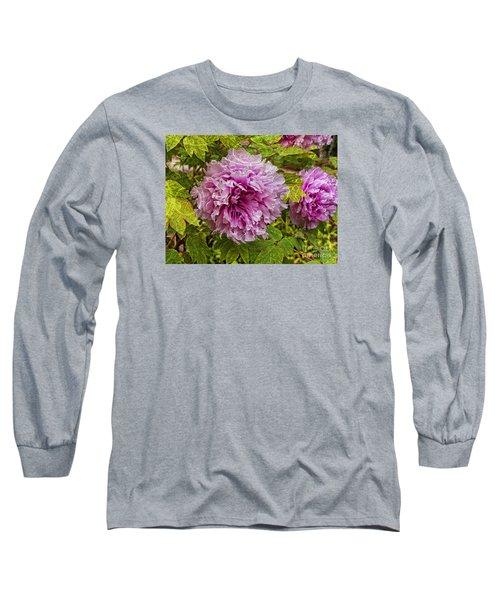 Peony Lace Long Sleeve T-Shirt