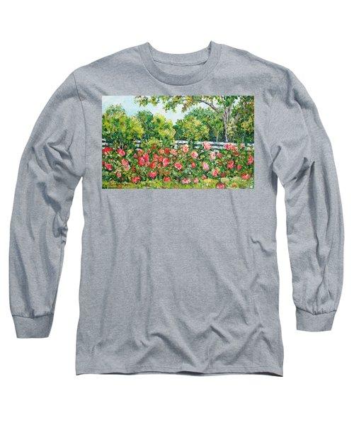 Peony Riot Long Sleeve T-Shirt