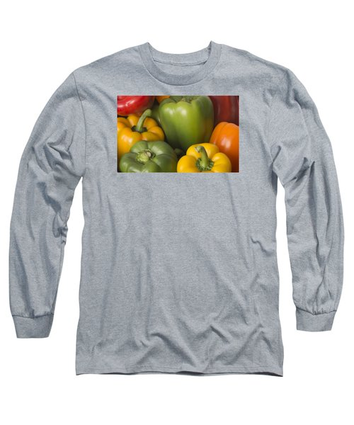 Long Sleeve T-Shirt featuring the photograph Peppered Delight by Laura Pratt