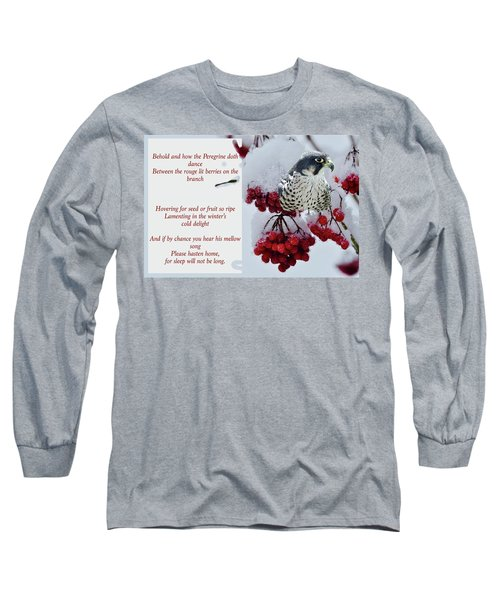 Peregrine Song Long Sleeve T-Shirt