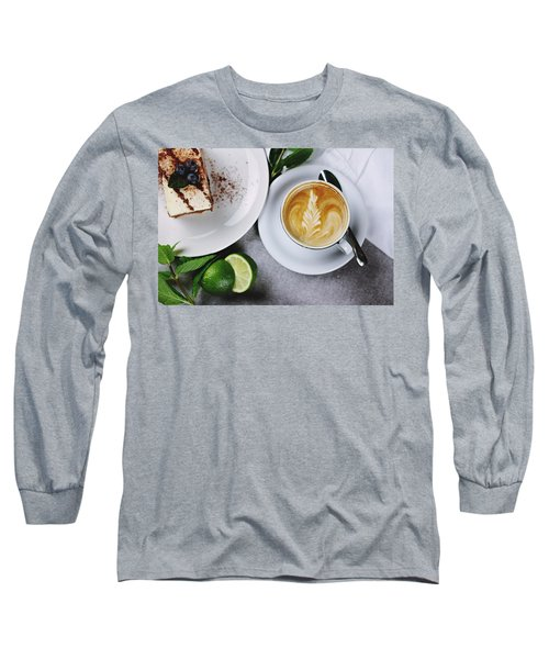 Perfect Breakfast Long Sleeve T-Shirt by Happy Home Artistry