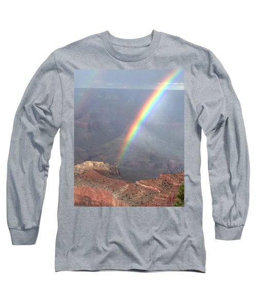Perfect Rainbow Kisses The Grand Canyon Long Sleeve T-Shirt
