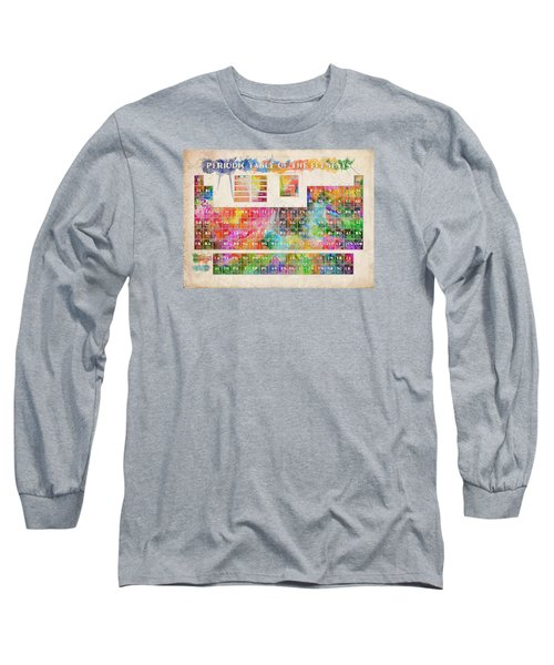 Periodic Table Of The Elements 10 Long Sleeve T-Shirt