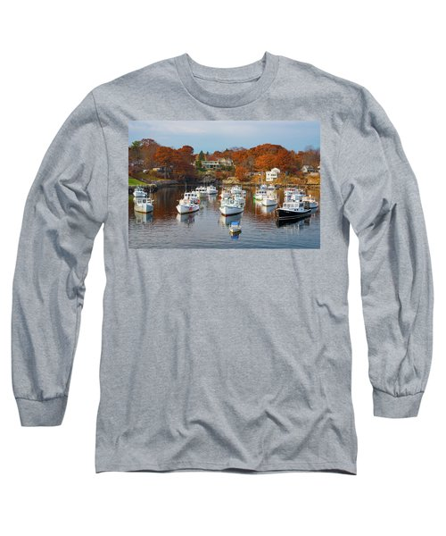 Long Sleeve T-Shirt featuring the photograph Perkins Cove by Darren White