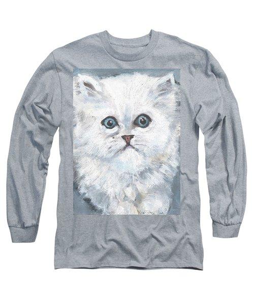 Persian Kitty Long Sleeve T-Shirt by Jessmyne Stephenson