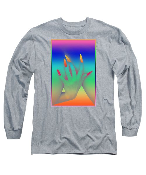 Personal Touch Long Sleeve T-Shirt by Tbone Oliver
