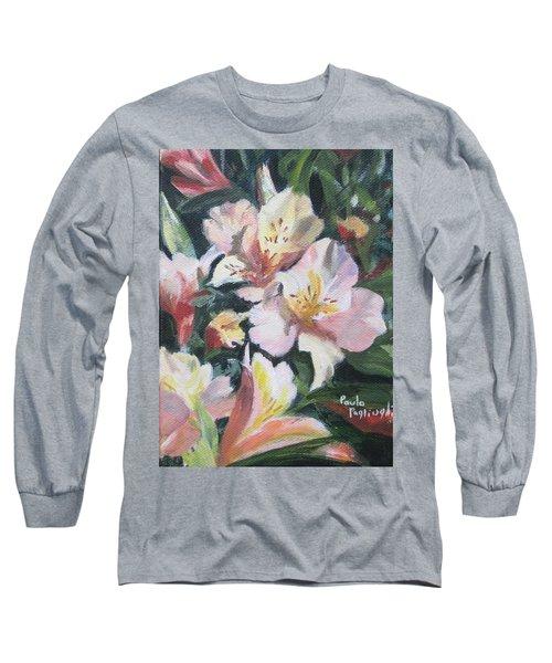 Peruvian Lily Long Sleeve T-Shirt