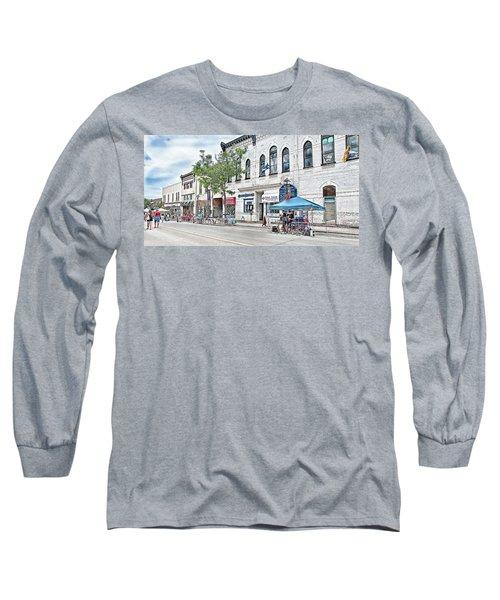 Peter Street Art Corridor Long Sleeve T-Shirt