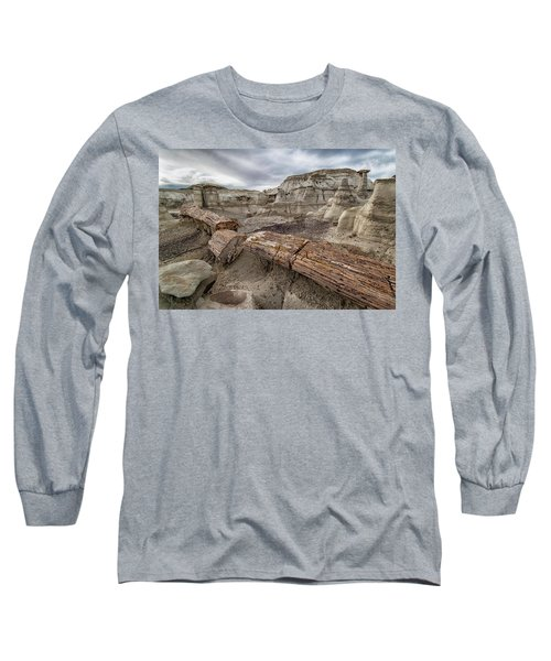 Long Sleeve T-Shirt featuring the photograph Petrified Remains by Alan Toepfer