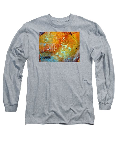 Petroglyph Panel Work 12 Long Sleeve T-Shirt