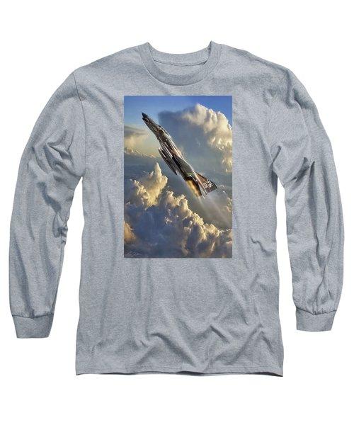 Phantom Cloud Break Long Sleeve T-Shirt by Peter Chilelli