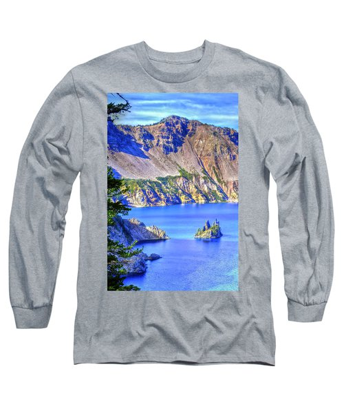 Phantom Ship Island Long Sleeve T-Shirt