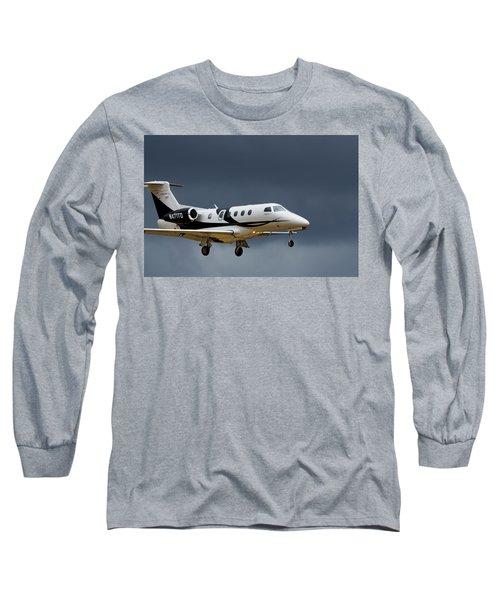 Phenom 300 Long Sleeve T-Shirt by James David Phenicie