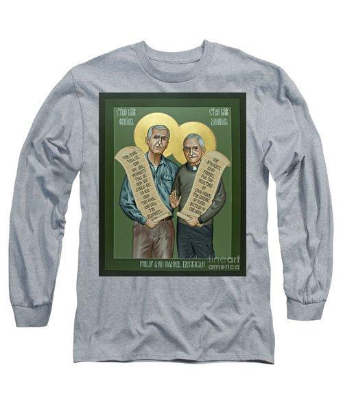 Philip And Daniel Berrigan Long Sleeve T-Shirt