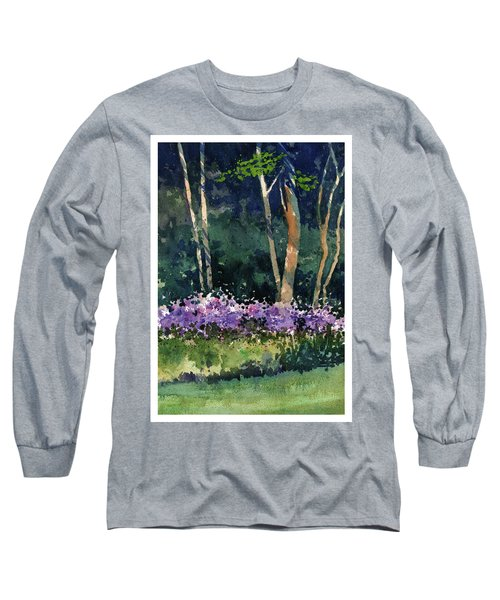 Phlox Meadow, Harrington State Park Long Sleeve T-Shirt