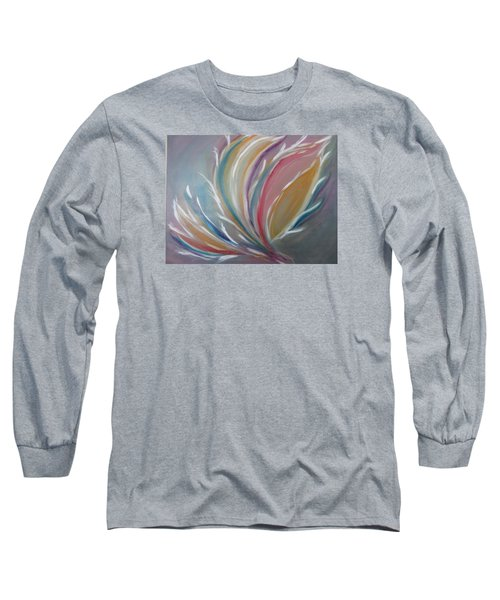 Long Sleeve T-Shirt featuring the painting Phoenix Rising by Sharyn Winters