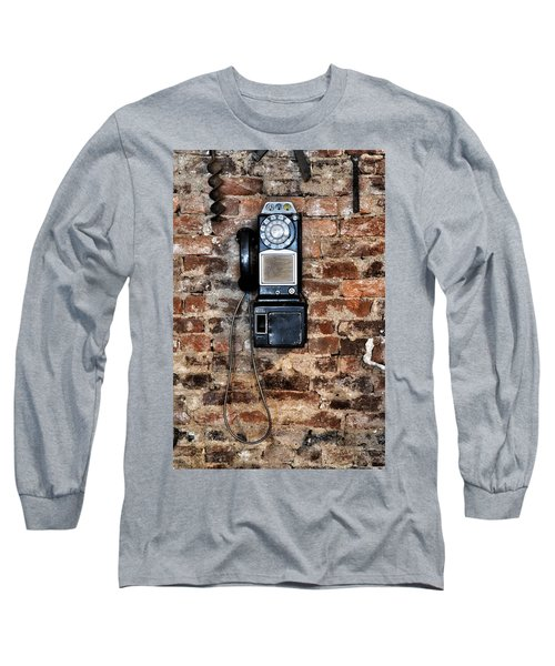 Pay Phone  Long Sleeve T-Shirt