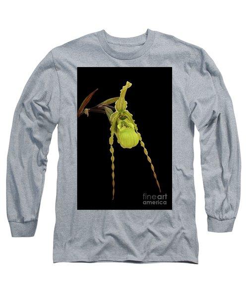 Phragmipedium Richteri Orchid Long Sleeve T-Shirt