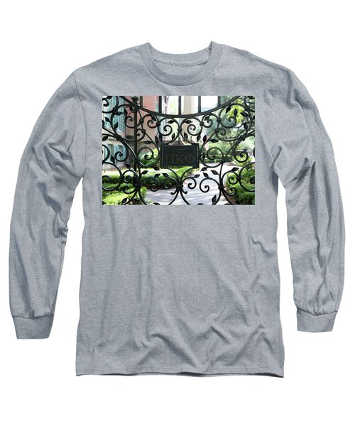 Pi Kappa Phi Gate Long Sleeve T-Shirt
