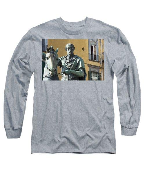 Piazza Del Plebiscito Long Sleeve T-Shirt