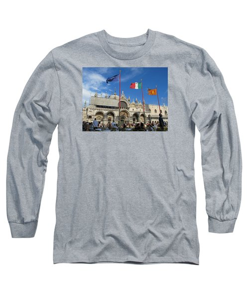 Piazza San Marco Venice Long Sleeve T-Shirt