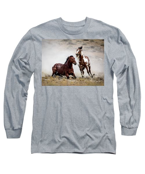 Picasso - Wild Stallion Battle Long Sleeve T-Shirt