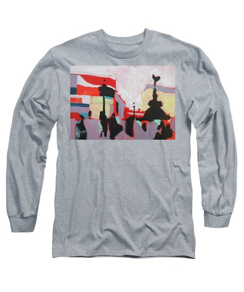 Piccadilly Circus Long Sleeve T-Shirt by Nop Briex