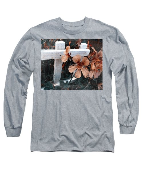 Picket Fence Blooms Long Sleeve T-Shirt