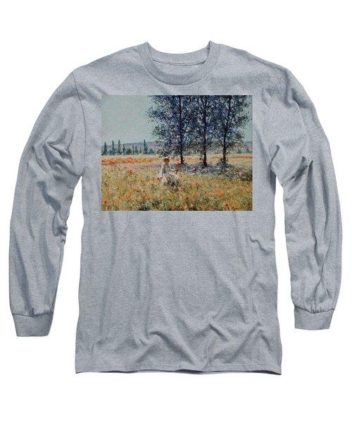 Picking Flowers  Long Sleeve T-Shirt