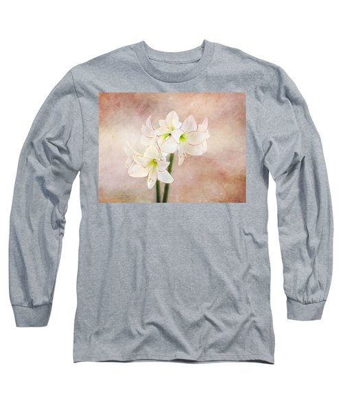 Picotee Amaryllis Long Sleeve T-Shirt
