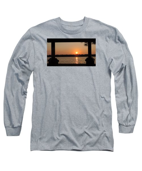 Picture Perfect Sunset Long Sleeve T-Shirt by Teresa Schomig