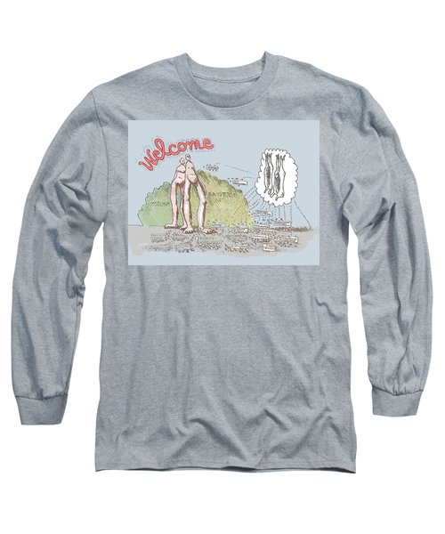 Piece Of Meat Long Sleeve T-Shirt