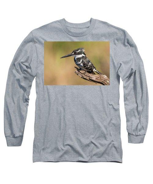 Pied Kingfisher Long Sleeve T-Shirt