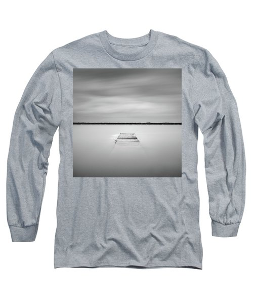 Pier Sinking Into The Water Long Sleeve T-Shirt