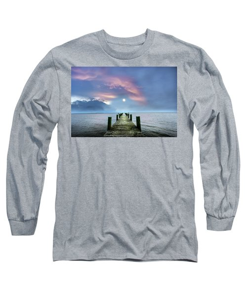 Pier To The Moon Long Sleeve T-Shirt