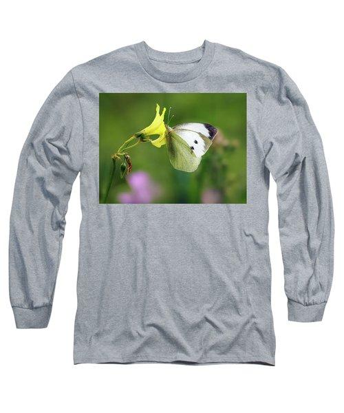 Pieris Rapae Long Sleeve T-Shirt
