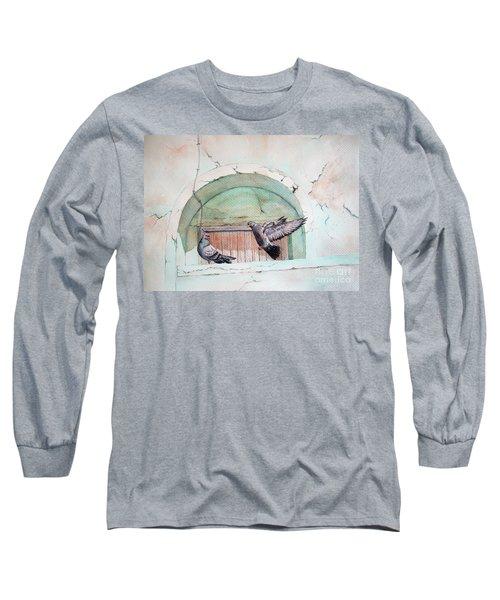 Pigeon Perch Long Sleeve T-Shirt