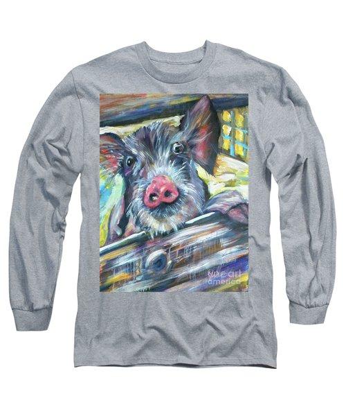 Piggy Long Sleeve T-Shirt