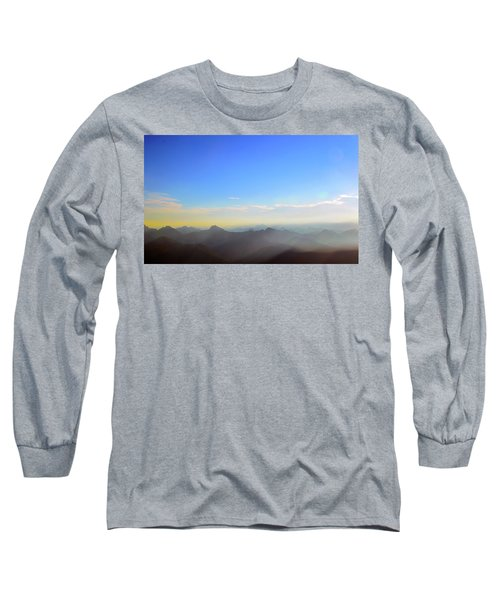 Pilchuck Sunrise Long Sleeve T-Shirt