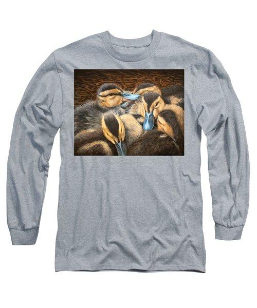 Pile O' Ducklings Long Sleeve T-Shirt