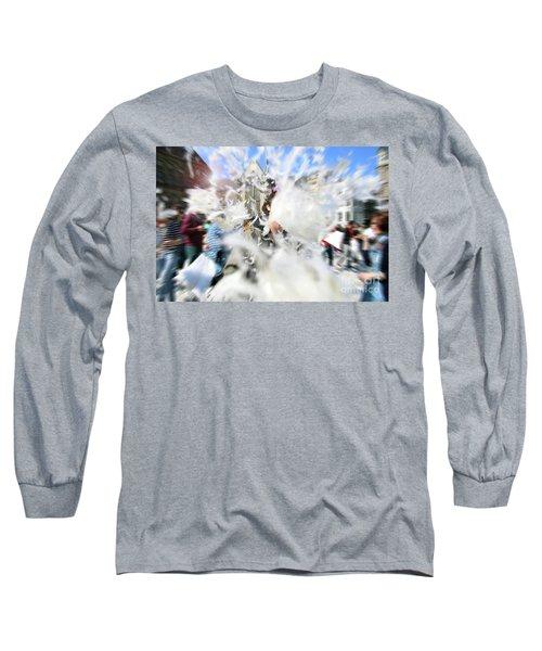 Pillow Fight Long Sleeve T-Shirt