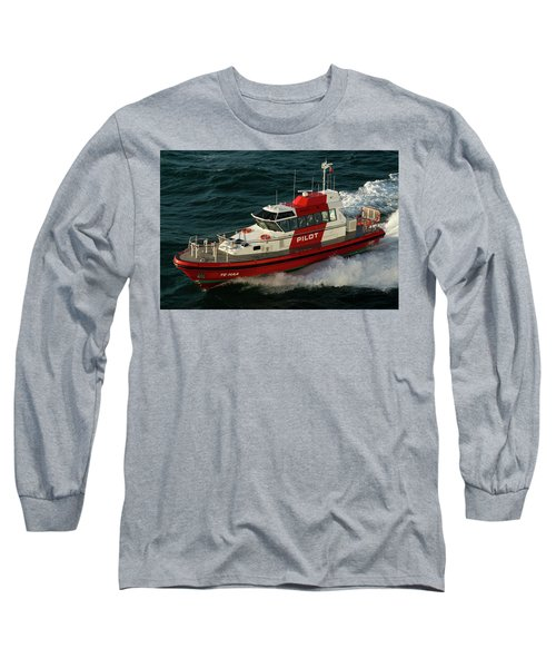 Pilot Boat Wellington Long Sleeve T-Shirt